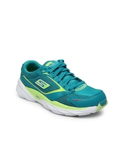 Skechers Women Blue Go Run Ride 3 Sports Shoes
