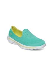 Skechers Women Sea Green Go Walk 2 - Hyper Walking Shoes