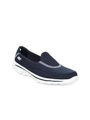 Skechers Women Navy Go Walk 2 Sports Shoes