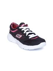 Skechers Women Black Go Fit Sports Shoes