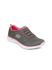 Skechers Women Grey Glider-Game Maker Training Shoes