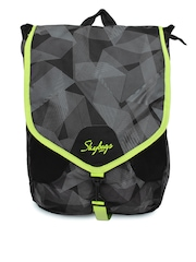 Skybags Unisex Black Surf-04 Backpack