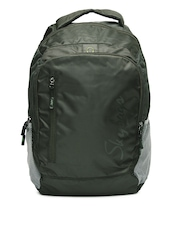 Skybags Unisex Olive Green Zoom 1 Backpack