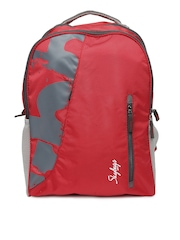 Skybags Unisex Red Surf-02 Backpack