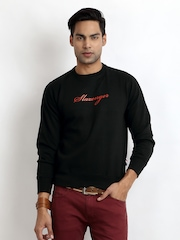 Slazenger Men Black Sweatshirt