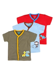 Snuggles Unisex Pack of 3 Printed T-Shirt