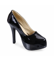 Soft & Sleek Women Black Pumps