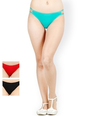 Softrose Women Pack of 3 Bikini Briefs WP5001BRRG