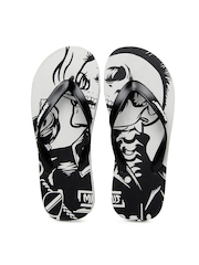 Sole Threads Men Black & Grey Flip Flops