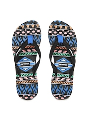 Sole Threads Women Black Flip Flops