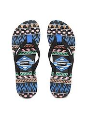 Sole Threads Women Black Flip Flops