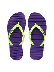 Sole Threads Women Purple Flip Flops