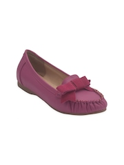 Sole To Soul Women Pink Loafers