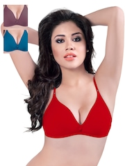 Sonari Pack of 3 Full-Coverage T-shirt Bras