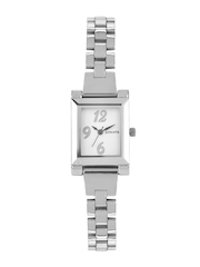Sonata Eva Collection Women Silver Toned Dial Watch