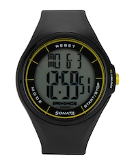 Sonata Men Black Ocean Series Digital Watch