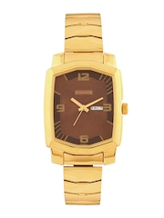 Sonata Men Brown Dial Watch