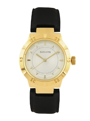 Sonata Men White Dial Watch