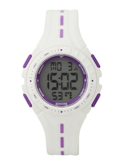 Sonata Ocean Series Women White Digital Watch