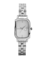 Sonata Women Off-White Dial Watch 87001SM01