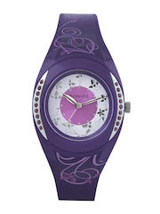 Sonata Women Purple Dial Watch