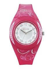 Sonata Women Steel Toned & Off-White Dial Watch