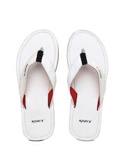 Sparx Men White Sandals
