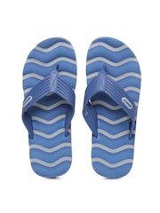 Sparx Men Blue & Grey Flip Flops
