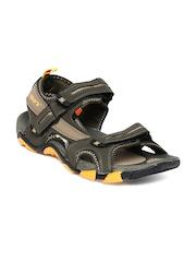 Sparx Men Olive Green Sports Sandals