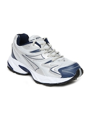 Sparx Men Silver Toned & Grey Sports Shoes
