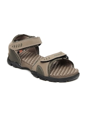 Sparx Men Brown Sports Sandals