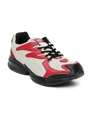 Sparx Men Grey & Red Sports Shoes