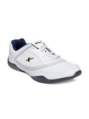 Sparx Men White Sports Shoes