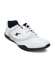 Sparx Men White Sports Shoes