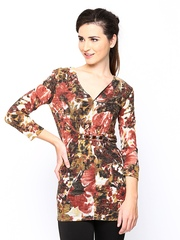 Species Women Multicoloured Printed Wool Blend Tunic