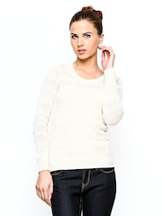 Species Women Off-White Wool Blend Sweater