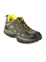 Spinn Men Olive & Grey MC Lucky Sports Shoes