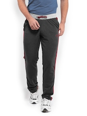 Sports 52 Men Grey Track Pants