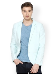 Srota Men Mint Green Blazer