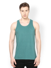 Srota Men Green Innerwear Vest  SRVS0129XL