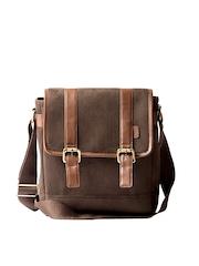 Srota Brown Sling Bag