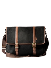 Srota Unisex Black Laptop Bag
