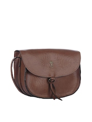 Srota Brown Sling Bag