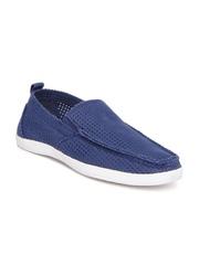 Steve Madden Men Blue Loafers