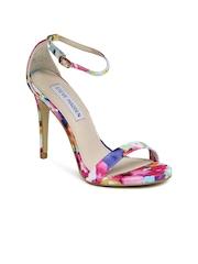 Steve Madden Women Multicoloured Stecy Floral Heels