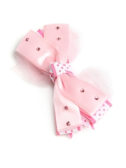 Stoln Girls Pink Bow Hair Clip