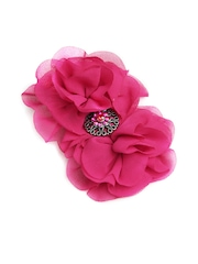 Stoln Girls Pink Flower Hair Clip