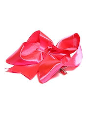 Stoln Girls Neon Pink Bow Hair Clip
