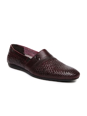 Style Centrum Men Burgundy Leather Casual Shoes