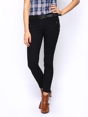Women Black Trousers Style Quotient